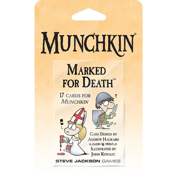 Munchkin: Marked for Death Blister Pack