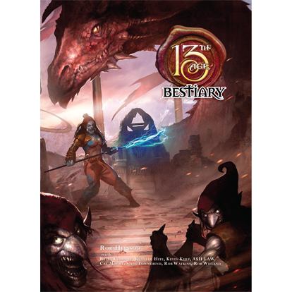 13th Age RPG: Bestiary Hardcover
