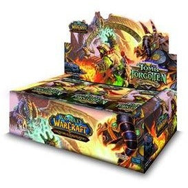 World of Warcraft CCG: Aftermath Tomb of the Forgotten Booster Display