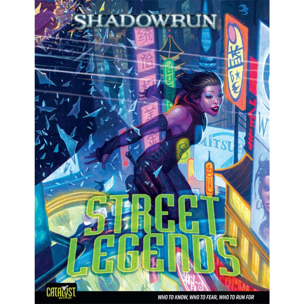 Shadowrun RPG: Street Legends