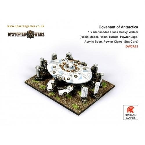 Dystopian Wars: Covenant of Antarctica Archimedes Class Heavy Walker
