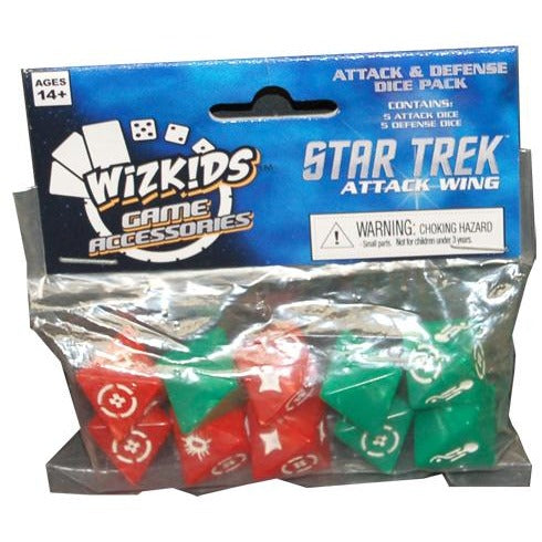 Star Trek Attack Wing: Attack and Defense Dice Pack