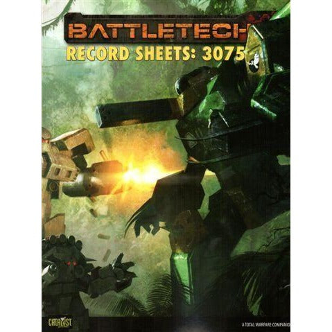 BattleTech: Record Sheets 3075