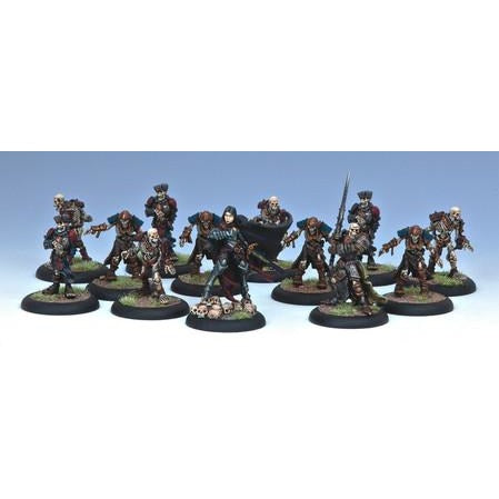 Warmachine: Mercenaries Alexia Ciannor, The Risen and Thrall Warriors Character Unit and Solo