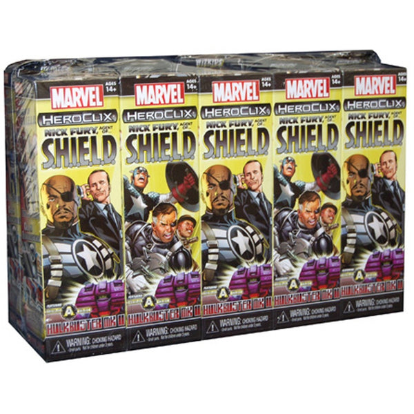 Marvel HeroClix: Nick Fury, Agent of SHIELD 10 Count Booster Brick