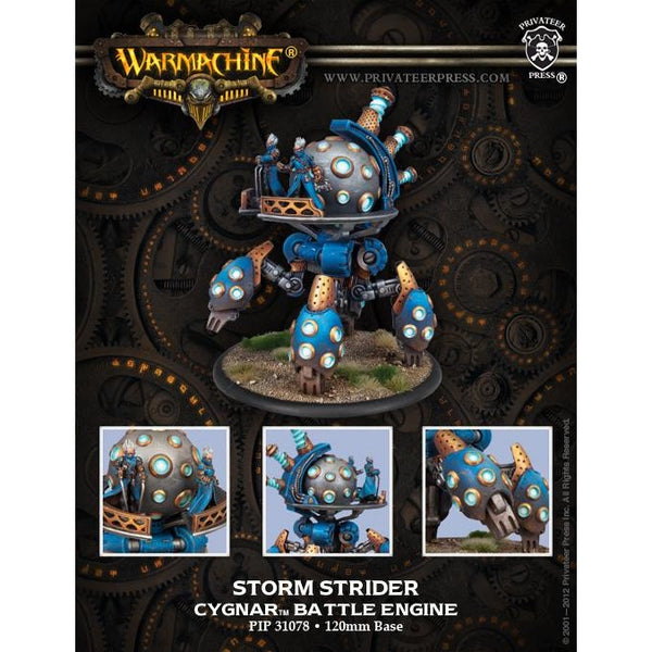 Warmachine: Cygnar Storm Strider Battle Engine