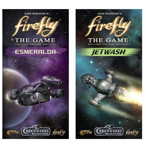 Firefly The Game Bundle: Jetwash and Esmeralda Expansion