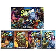 Smash Up Bundle: Awesome Level 9000 / The Obligatory Cthulhu / Science Fiction Double Feature / Big Geeky Box / Monster Smash Expansions