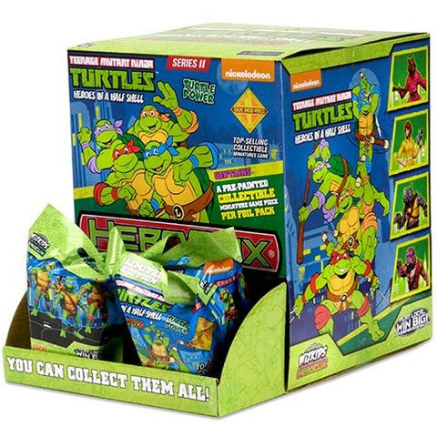 Teenage Mutant Ninja Turtles HeroClix: Gravity Feed Display Set 2