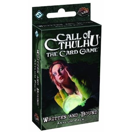Call of Cthulhu LCG: Written and Bound Asylum Pack