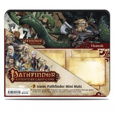 Pathfinder: Iconic Characters Mini Mat 7-pack