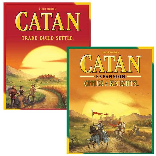Catan Bundle: Core Plus Cities and Knights Expansion