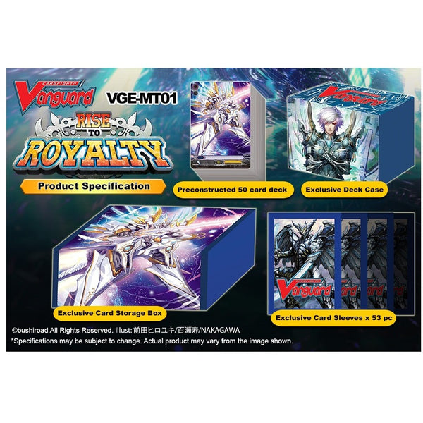 Cardfight Vanguard TCG: Mega Trial Deck Volume 1 - Rise to Royalty