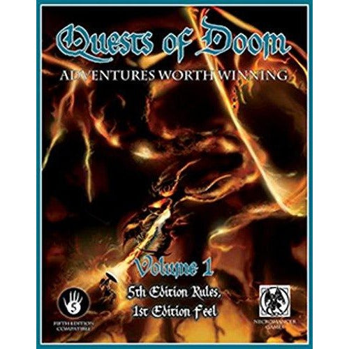 Dungeons and Dragons RPG: Quests of Doom V1