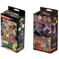 Dungeons and Dragons Dice Masters: Battle for Faerun and Faerun Under Seige Starter Sets