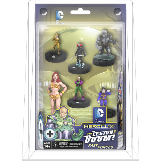 DC HeroClix: Superman and the Legion of Super-Heroes The Legion of Doom Fast Forces Pack