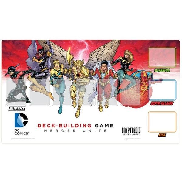 DC Comics: Deckbuilding Game Heroes Unite Playmat
