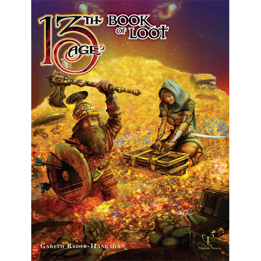 13th Age RPG: The Book of Loot Hardcover