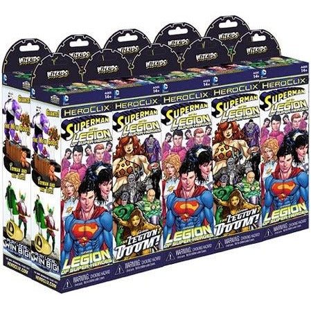 DC HeroClix: Superman and the Legion of Super-Heroes 10 Count Booster Brick