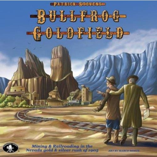 Bullfrog Goldfield: Boxed Board Game