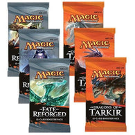 Magic the Gathering Bundle: 3 X Fate Reforged and 3 X Dragons of Tarkir Booster Packs