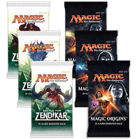 Magic the Gathering Bundle: 3 X Battle for Zendikar and 3 X Magic Origins Booster Packs