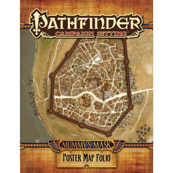 Pathfinder Campaign Setting: Mummys Mask Poster Map Folio