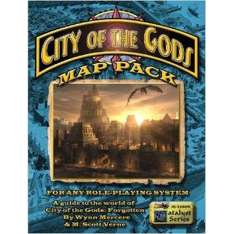 Citybooks: City of the Gods Map Pack