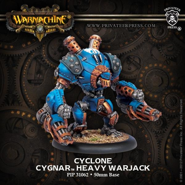 Warmachine: Cygnar Cyclone Heavy Warjack