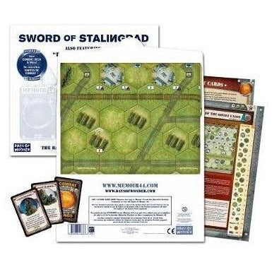 Memoir 44: Battlemap Volume 3 Sword Of Stalingrad