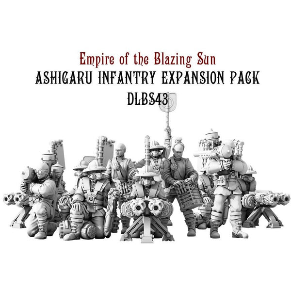 Dystopian Legions: Empire of the Blazing Sun Ashigaru Infantry Expansion Set