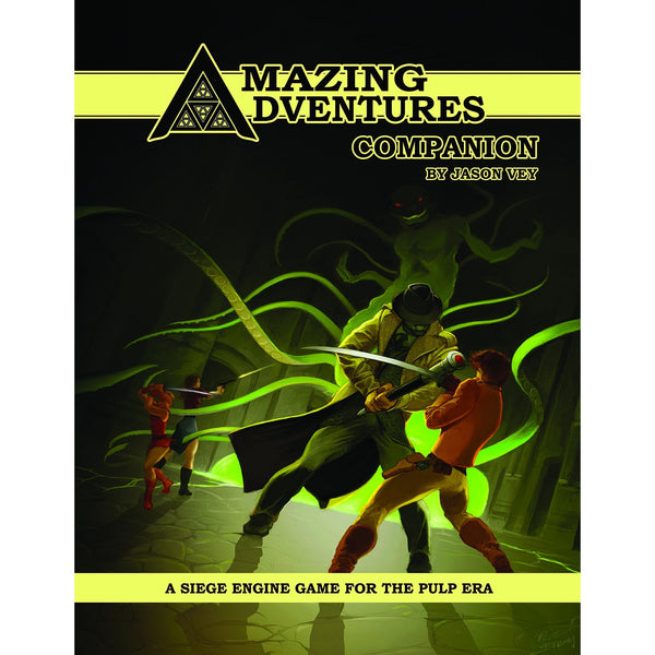 Amazing Adventures RPG: Companion Hardcover