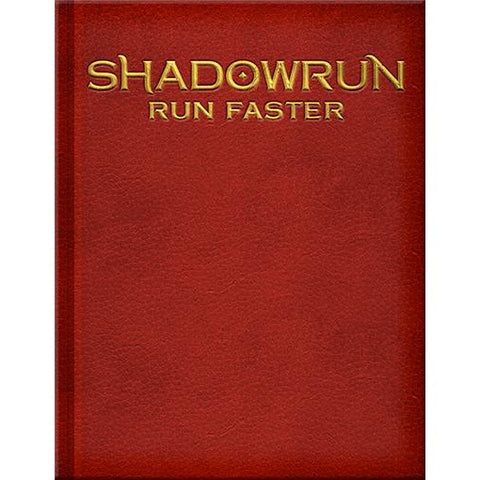 Shadowrun RPG: Run Faster Limited Edition Hardcover