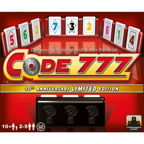 Code 777 - 30th Anniversary Edition