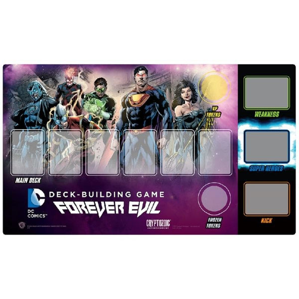 DC Comics: Deckbuilding Game Forever Evil Playmat