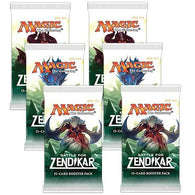 Magic the Gathering Bundle: 6 X Battle for Zendikar Booster Packs