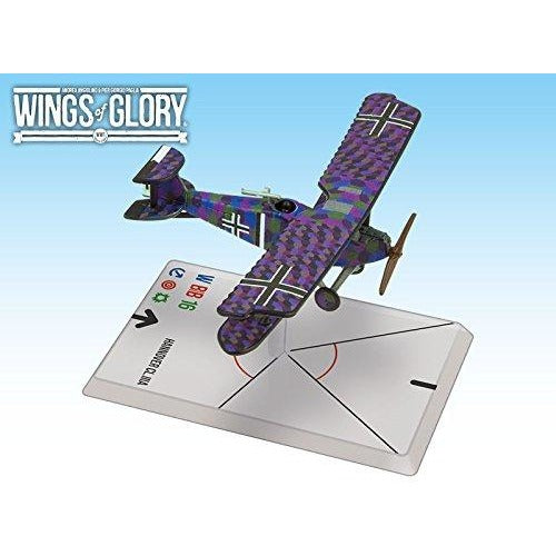 Wings of Glory: Macchi M.5 - Hannover Cl.IIIA (Baur/Von Hengl)