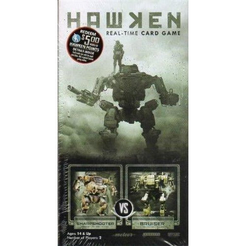 Hawken Real-Time Card Game: Sharpshooter vs Bruiser Deck