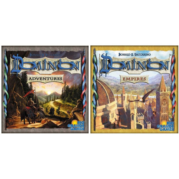 Dominion Bundle: Adventures Plus Empires Expansion