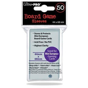 Board Game Sleeves 44x68mm