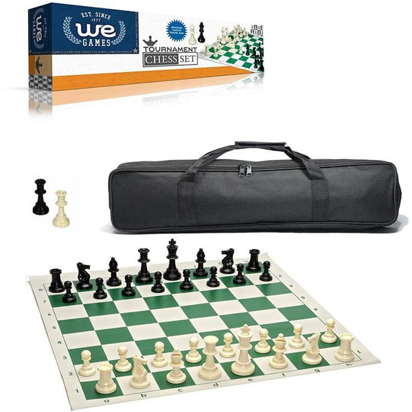 Chess Tournament Set & Canvas Bag