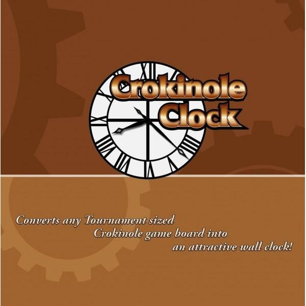 Crokinole Clock Accessory (Board Not Included)