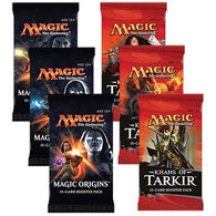 Magic the Gathering Bundle: 3 X Khans of Tarkir and 3 X Magic Origins Booster Packs