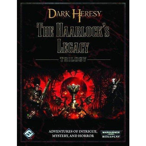 Warhammer 40K Dark Heresy RPG: The Haarlocks Legacy Trilogy