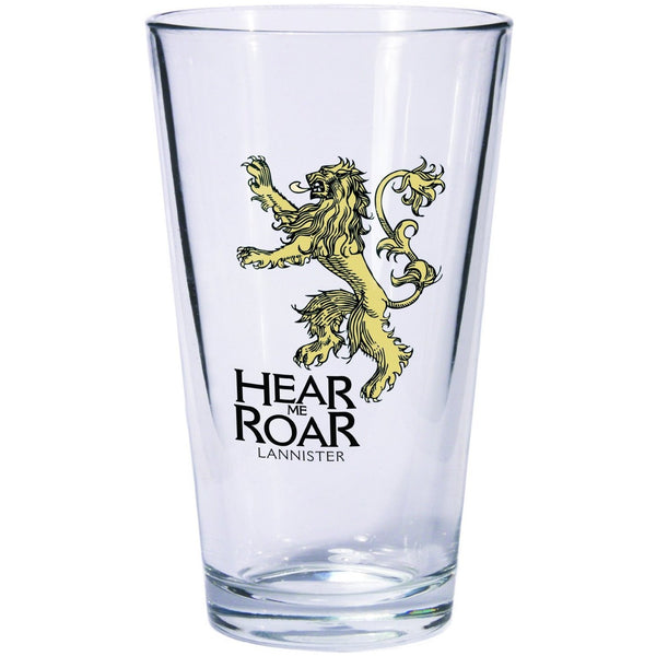 A Game of Thrones Pint Glass - Lannister