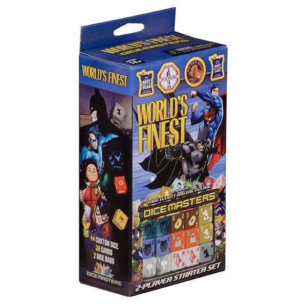 DC Dice Masters: Worlds Finest Superman and Batman Starter Set