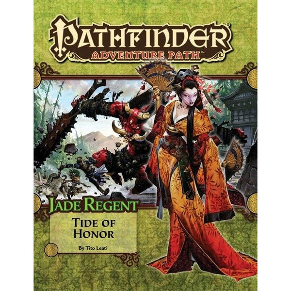 Pathfinder Adventure Path: Jade Regent Part 5 - Tide of Honor