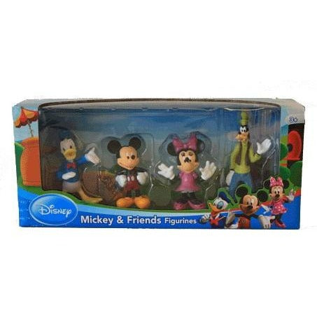 Disney: Mickey Mouse Figurines 4 Pack