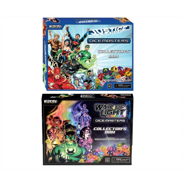 DC Dice Masters Bundle: Justice League and War of Light Collectors Sets