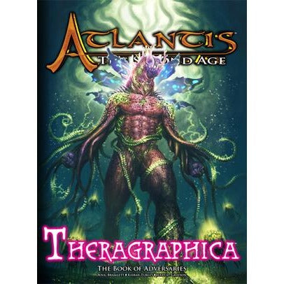 Atlantis - The Second Age RPG: Theragraphica Hardcover
